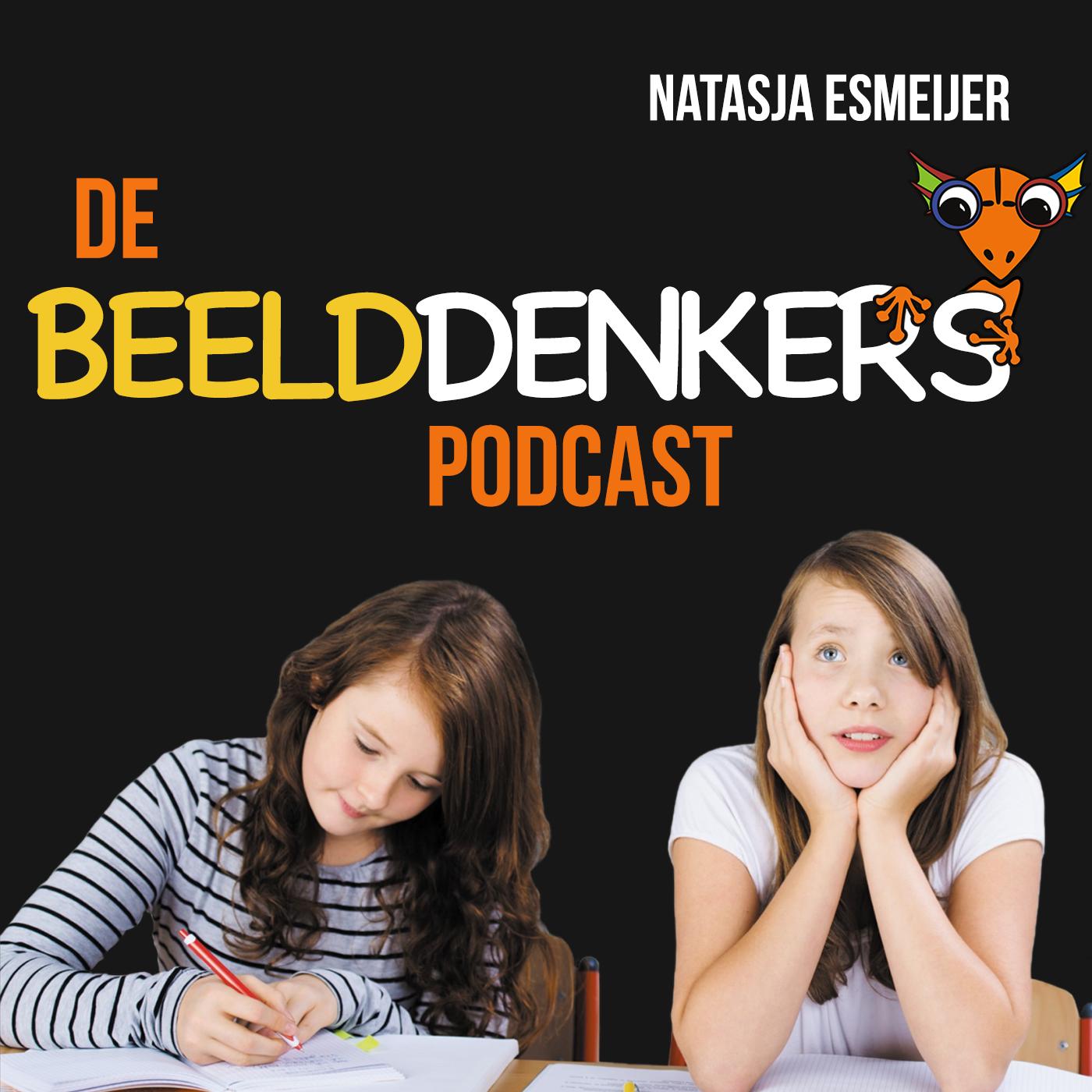 Logo de beelddenkers podcast